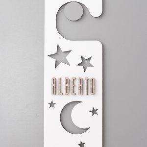 Poming Estrellas Blanco